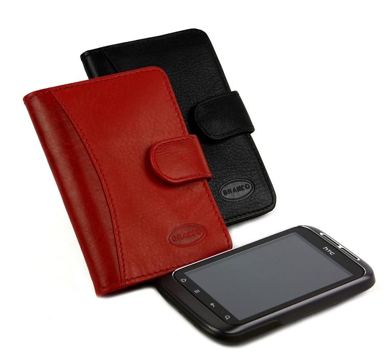 BRANCO Puzdro na kreditné karty 360 čierna